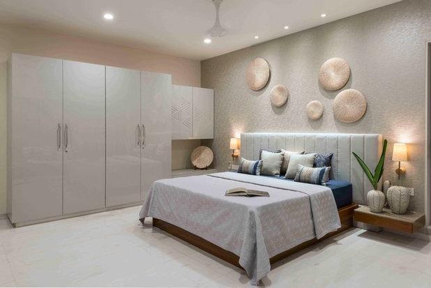 Contemporary Bedroom by Usine Studio
