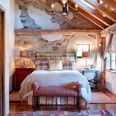 Farmhouse Bedroom by Wolstenholme Associates, LLC