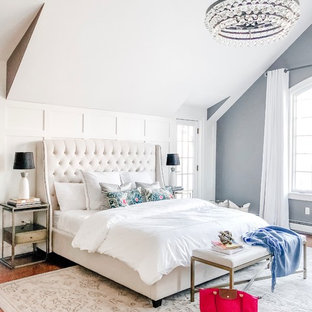 NJ Country House - Modern Farmhouse Master Bedroom