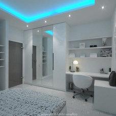 Modern Bedroom by M+M wnetrza