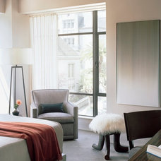 Transitional Bedroom by Leverone Design, Inc.