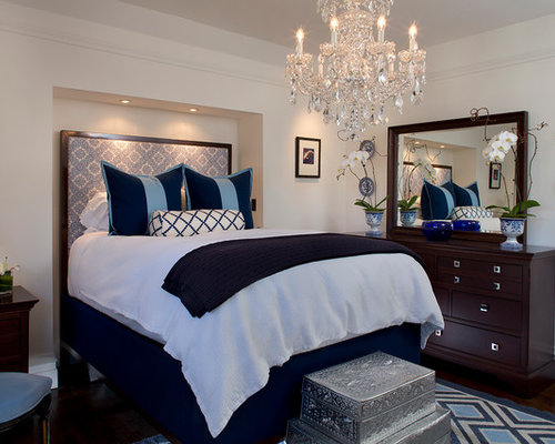 Chandelier Over Bed Home Design Ideas Pictures Remodel
