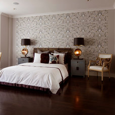 Eclectic Bedroom by GEREMIA DESIGN