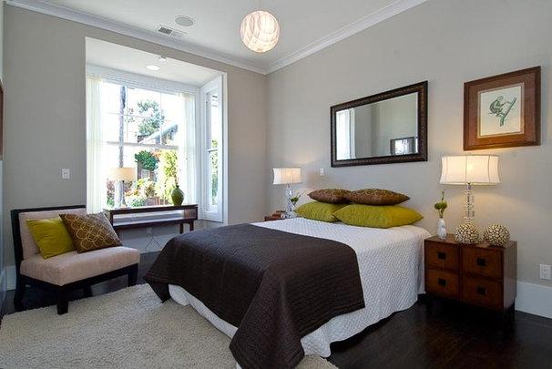 Contemporary Bedroom by Amoroso Design