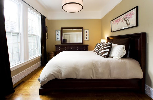 Contemporary Bedroom by Amoroso Design