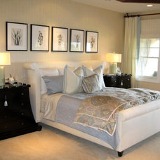 Beach Style Bedroom by D for Design