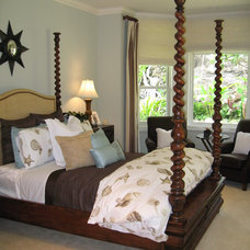 Tropical Bedroom by D for Design