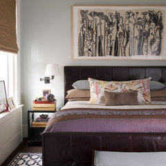 contemporary bedroom by Thom Filicia Inc.
