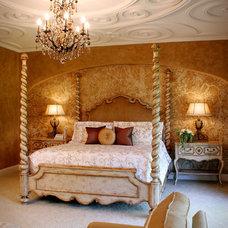 Mediterranean Bedroom by Palmieri Builders