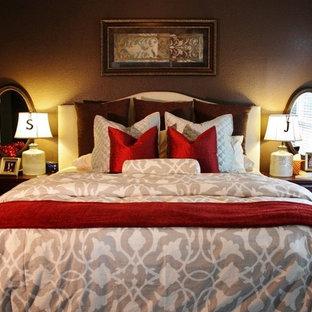 Elegant bedroom photo in Austin