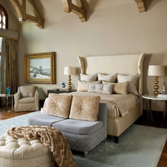 traditional bedroom by Dallas Design Group, Interiors