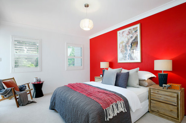 Contemporary Bedroom by Pilcher Residential