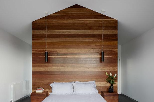 Современный Спальня by Rebecca Naughtin Architect
