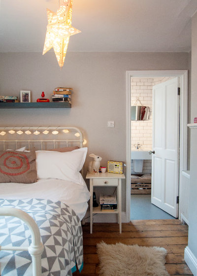Eclectic Bedroom by Amelia Hallsworth Photography