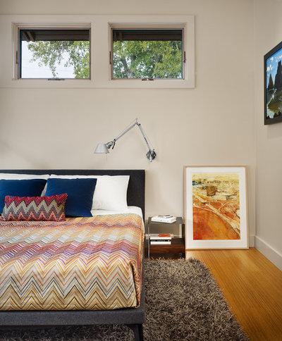 Modern Bedroom by Furman + Keil Architects