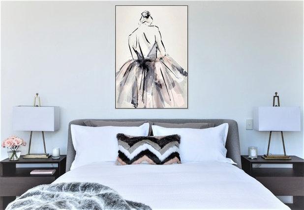 Contemporary Bedroom by KENZ INTERIORS Interior Designer
