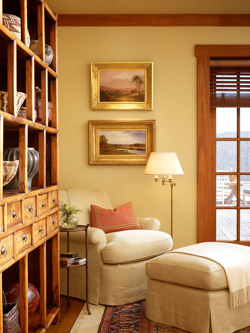 Small reading room home design ideas pictures remodel for Cozy reading room design ideas