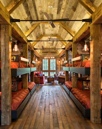 Rustic Bedroom by John Kraemer & Sons