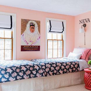 Eclectic bedroom in Boston.