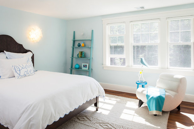 Houzz tour a minimalist home that s family friendly too for Minimalist bedroom tour