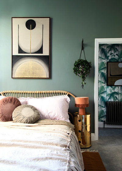 Contemporary Bedroom by Run for the Hills
