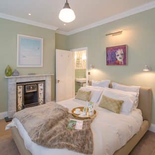 Inspiration For A Traditional Bedroom In London
