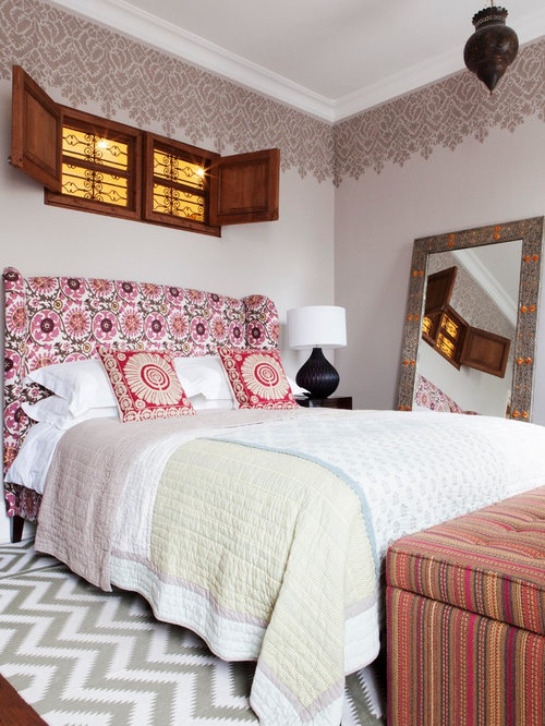 Pakistani rugs bedroom design ideas remodels photos houzz for Pakistani bed design images