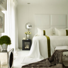 Contemporary Bedroom by Kelly Hoppen London