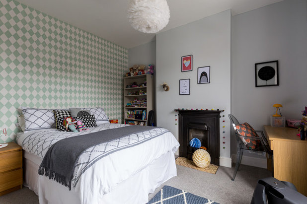Transitional Bedroom by Chris Snook