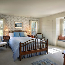Traditional Bedroom by M James Architecture
