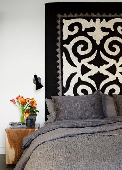 Industrial Bedroom by Jessica Helgerson Interior Design