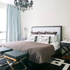 Modern Bedroom by Lori Graham Design