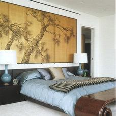 Modern Bedroom by Sam Robin Design