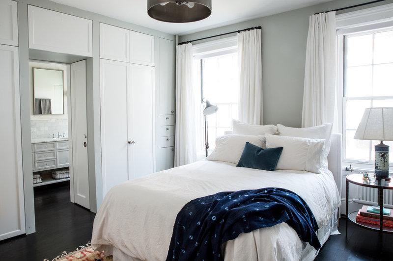 Transitional Bedroom NYC Condo