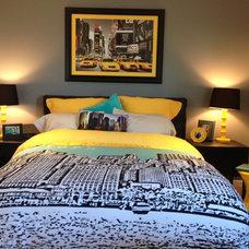Contemporary Bedroom by Chantel Renee Design