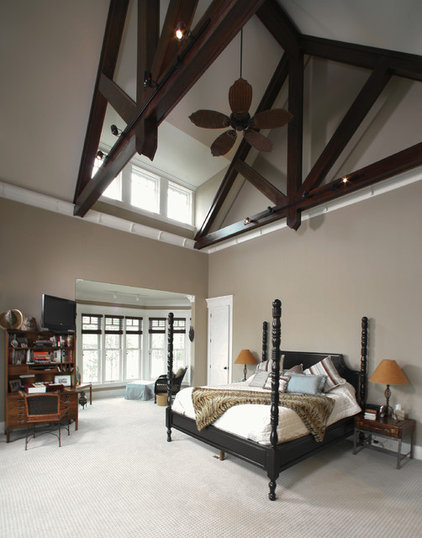 Craftsman Bedroom by Jamison Howard
