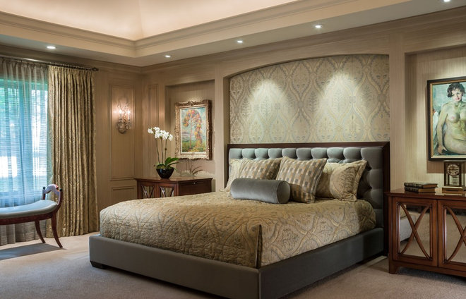 Traditional Bedroom by Kaufman Segal Design