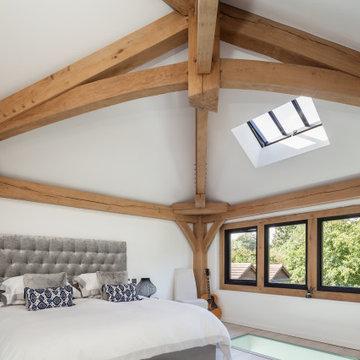 Oak framed self-build