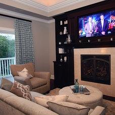 Contemporary Bedroom by Oakley Home Builders