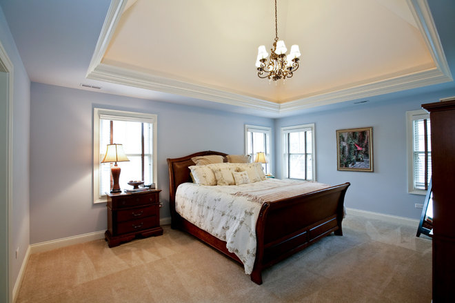 traditional bedroom by Oakley Home Builders