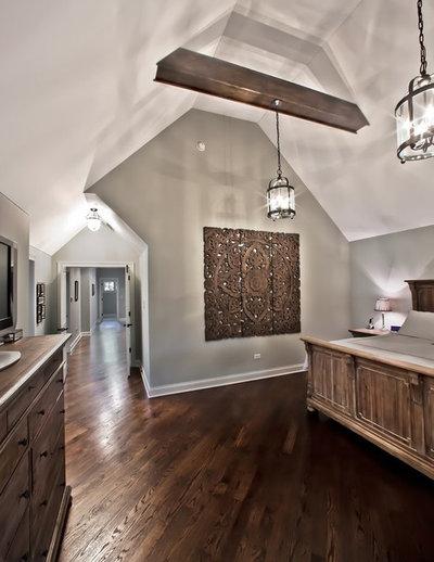 Rustic Bedroom by Oakley Home Builders