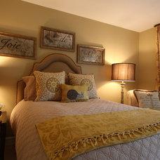 Traditional Bedroom by Pamela Harvey Interiors