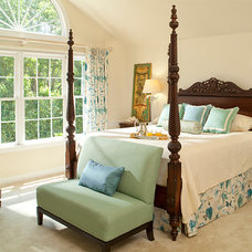 Traditional Bedroom by Rachel Bauer Design LLC