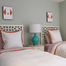 Tropical Bedroom by Troy Spurlin Interiors