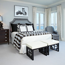 Contemporary Bedroom by Donna Benedetto Designs LLC.