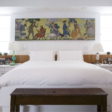 Contemporary Bedroom by Cynthia Marks - Interiors