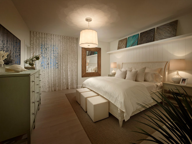 Beach Style Bedroom by Interiors by Steven G