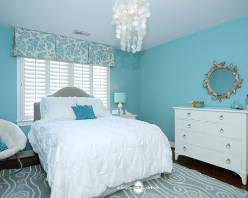 Aqua girls bedroom home design ideas pictures remodel for Aquamarine bedroom ideas