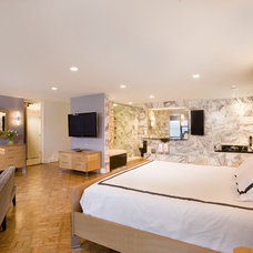 Contemporary Bedroom by Mary Courville Designs