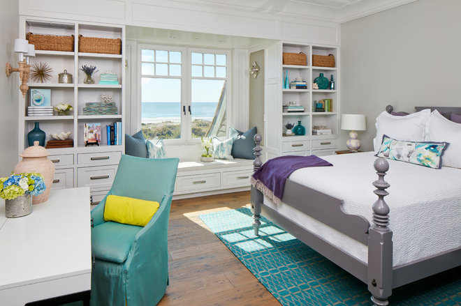 Beach Style Bedroom by ONYX DESIGN COLLABORATIVE